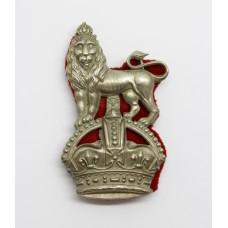15th/19th Hussars NCO's Arm Badge - King's Crown