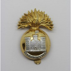Royal Inniskilling Fusiliers Anodised (Staybrite) Cap Badge