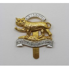 Royal Leicestershire Regiment Anodised (Staybrite) Beret Badge