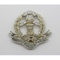 Middlesex Regiment Anodised (Staybrite) Cap Badge