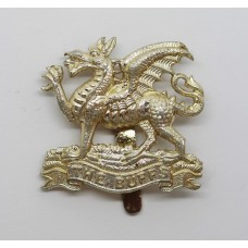 The Buffs (East Kent Regiment) Anodised (Staybrite) Cap Badge