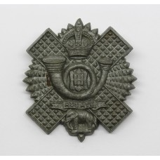 Highland Light Infantry (H.L.I.) WW2 Plastic Economy Cap Badge