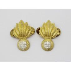 Pair of Gibraltar Regiment Collar Badges
