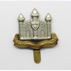 Cambridgshire Regiment (Missing 'E' Type) Cap Badge