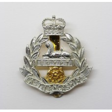 East Lancashire Regiment Anodised (Staybrite) Cap Badge