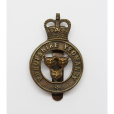 Shropshire Yeomanry Cap Badge - Queen's Crown