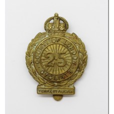 25th County of London (Cyclist) Bn. London Regiment Cap Badge - K