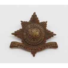 4th Royal Irish Dragoon Guards Officer's Service Dress Cap Badge