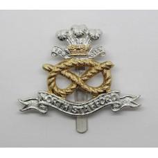 North Staffordshire Regiment Anodised (Staybrite) Cap Badge