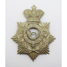 Victorian 2nd Administration Bn. Lincolnshire Rifle Volunteers Helmet Plate