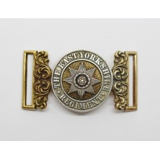 Victorian Post 1881 East Yorkshire Regiment Officer's Waist Belt Clasp