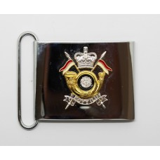 King's Own Yorkshire Yeomanry (Light Infantry) Waist Belt Plate