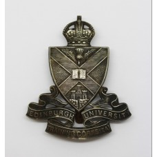 Edinburgh University Training Corps (T.A.) Cap Badge - King's Cro