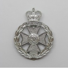 The Royal Green Jackets Anodised (Staybrite) Cap Badge
