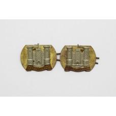 Pair of 5th Royal Inniskilling Dragoon Guards Collar Badges