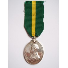 George V Territorial Force Efficiency Medal (T.F.E.M.) - Pte. C. Newell, 8th Bn. Lancashire Fusiliers
