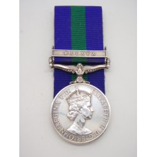 General Service Medal (Clasp - Malaya) - Pte. J. Whytock, Royal Army Ordnance Corps