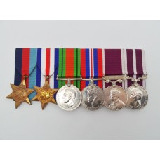 WW2, Long Service & Good Conduct and Meritorious Service Medal (MSM) Group of Six - Royal Engineers