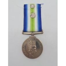 South Atlantic (Falklands War) Medal with Rosette - ALAEM (M) M.A. Roadnight, 846 Sqdn. Royal Navy Fleet Air Arm