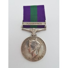 General Service Medal (Clasp - Palestine) - Fsr. F.C. Mitchell, Royal Scots Fusiliers
