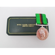 Royal Ulster Constabulary Service Medal in Box of Issue - R/Const