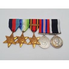 WW2 Atlantic, Burma & Pacific and ERII Royal Navy Long Servic
