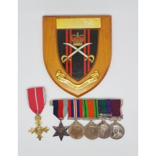 OBE, WW2, General Service Medal (Clasp - Palestine 1945-48) and Long Service & Good Conduct Medal Group - Major J.A. Mansi, Royal Warwickshire Regiment and A.P.T.C.