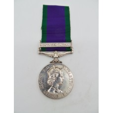 Campaign Service Medal (Clasp - Northern Ireland) - Gnr. I.J. Caddy, Royal Artillery