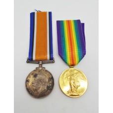 WW1 British War & Victory Medal Pair - Spr. L.G. Wilson, Roya