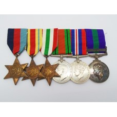 WW2 and General Service Medal (Clasp - Palestine 1945-48) Group o
