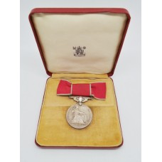 ERII British Empire Medal (B.E.M.) in Box of Issue - Miss Isabella Marchant Moyse