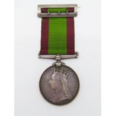 Afghanistan 1878-80 Medal - Pte. D. Beck, 15th Hussars