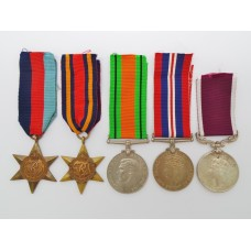 WW2 and Indian Army Long Service & Good Conduct Medal Group o