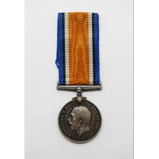 WW1 British War Medal - Pte. J. Greenwood, Manchester Regiment