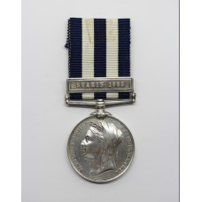 Egypt Medal (Clasp - Suakin 1885) - Pte. R. Wakefield, 1st Bn. Sh