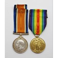 WW1 British War & Victory Medal Pair - 3.A.M. A. Clayton, Royal Air Force