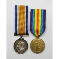 WW1 British War & Victory Medal Pair - Pte. J. Alison, 4th Bn. Cameron Highlanders