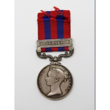 1854 India General Service Medal (Clasp - Persia) - W. Davidson, 78th Highlanders