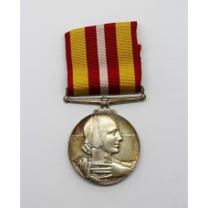 Voluntary Medical Services Medal - Mrs Joan E. Wood