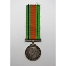 WW2 Canadian Issue Defence Medal (Silver)