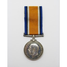 WW1 British War Medal - Pte. W. Jenkins, South Wales Borderers