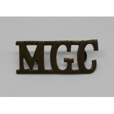 Machine Gun Corps (M.G.C.) Shoulder Title