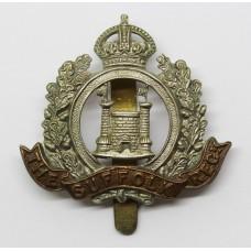 4th Battalion, Sufolk Regiment Cap Badge - King's Crown