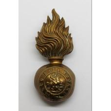 Northumberland Fusiliers Fur Cap Grenade Badge