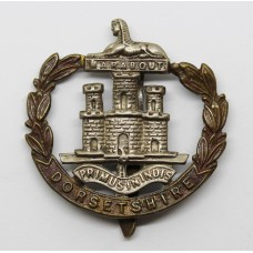 Dorsetshire Regiment (Wide Wreath) Cap Badge