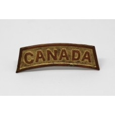 WW1 Canada Shoulder Title (Dated 1916)