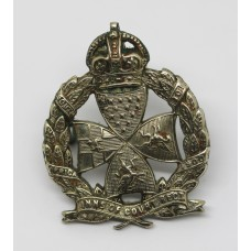 Inns of Court Regiment Officer's Cap Badge - King's Crown