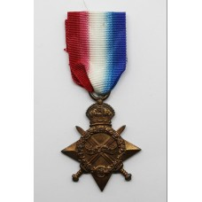WW1 1914-15 Star - Spr. W. Davies, Royal Engineers
