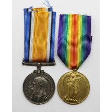 WW1 British War & Victory Medal Pair - Gnr. T.E. Wigg, Royal Artillery