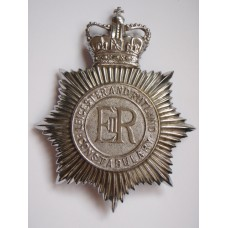 Leicestershire and Rutland Helmet plate - Queen's Crown